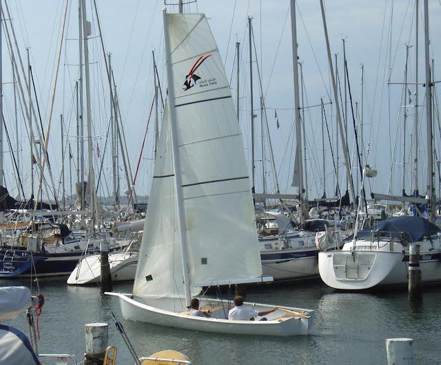 Gamla heyman yacht design blogg an america 39 s cup skiff for The sail dubai