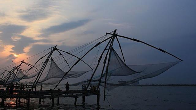 Kochi et les filets chinois