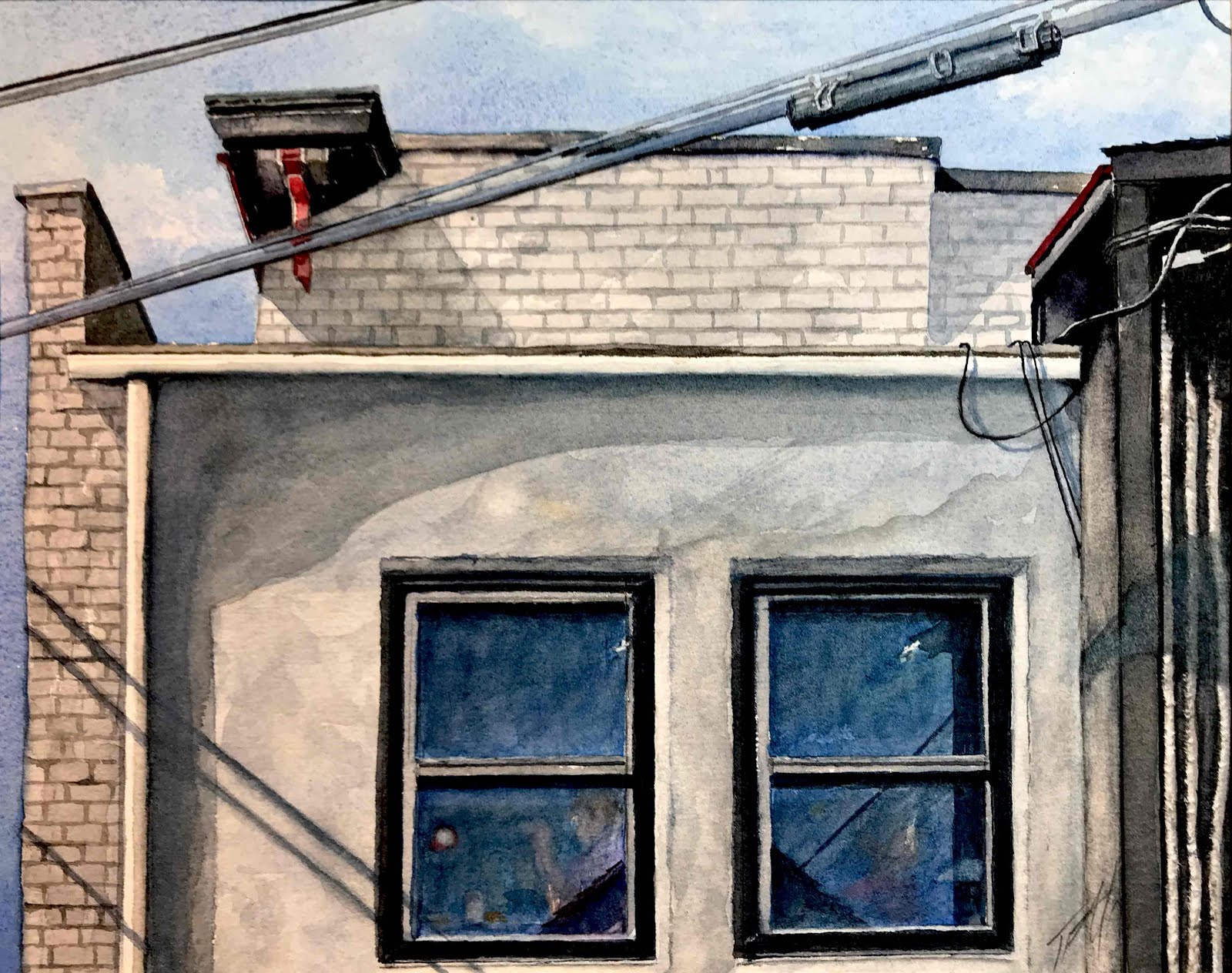 Siding with the Red Rooster (Annapolis)
