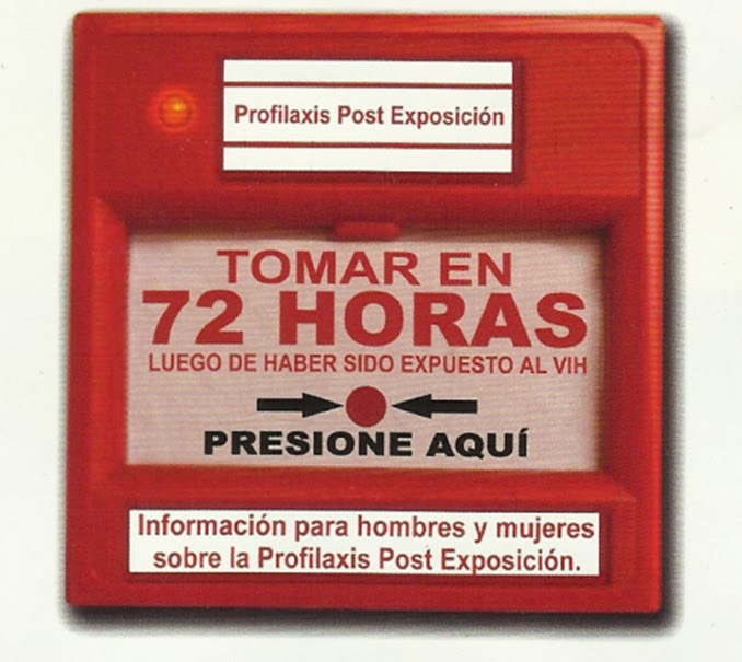 profilaxis postexposicion vih tratamiento urgencia 6-72 horas