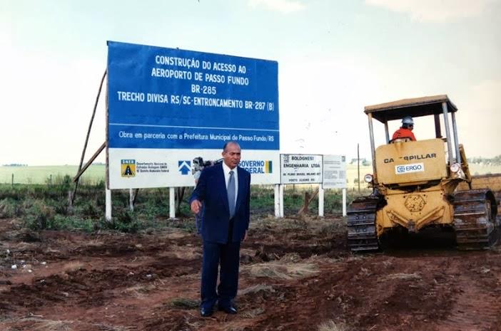 Ministro Padilha inicia construção de trevos em Passo Fundo