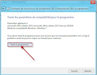 How to run Office Starter on Windows 8
