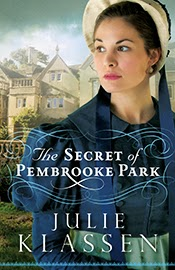 Book cover: The Secret of Pembrooke Park by Julie Klassen