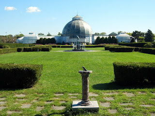 Whitcomb conservatory on Belle Isle in Detroit, Michigan