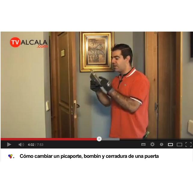 Manivelas para puerta c mo cambiar un picaporte bomb n y for Bombin de puerta