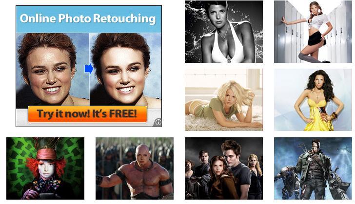photofunia dengan fasilitas efek foto yang akan terdiri majalah ...