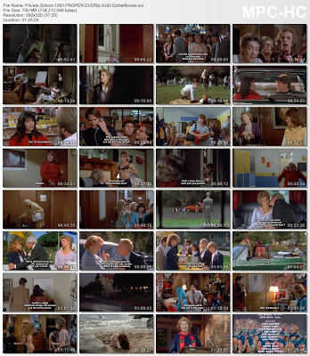 Download Private School (1983) DVDRip XviD 700 MB Ezine Movies