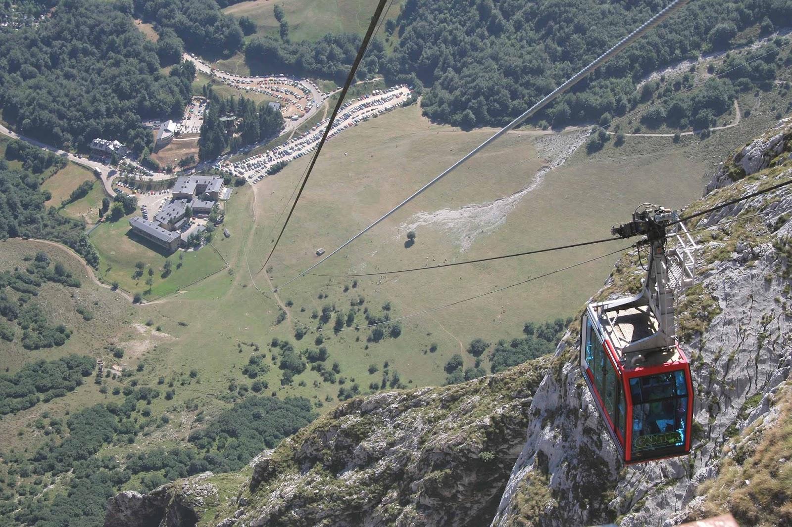 Grupo de Montaña - Patapumparriba: Teleférico de Fuente Dé - Peña Vieja (2.61...