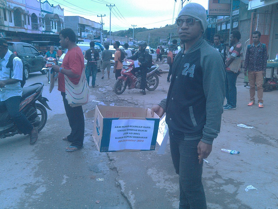 menyikapi penangkapan terhadap forum indenpeden mahasiswa