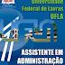 Apostila Concurso Universidade Federal de Lavras (UFLA) 2015 - Assistente em Administração