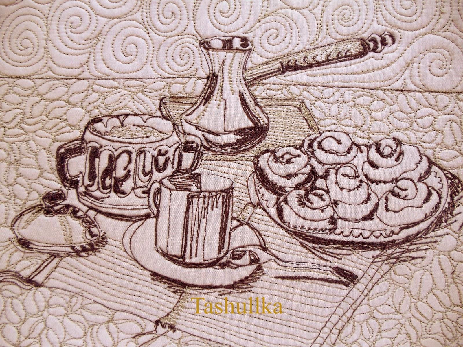 батик кофейная тема схемы