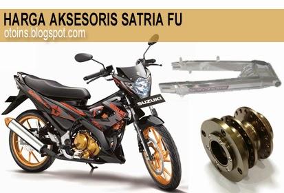 Rincian Harga Aksesoris Motor Satria FU Terbaru 2015