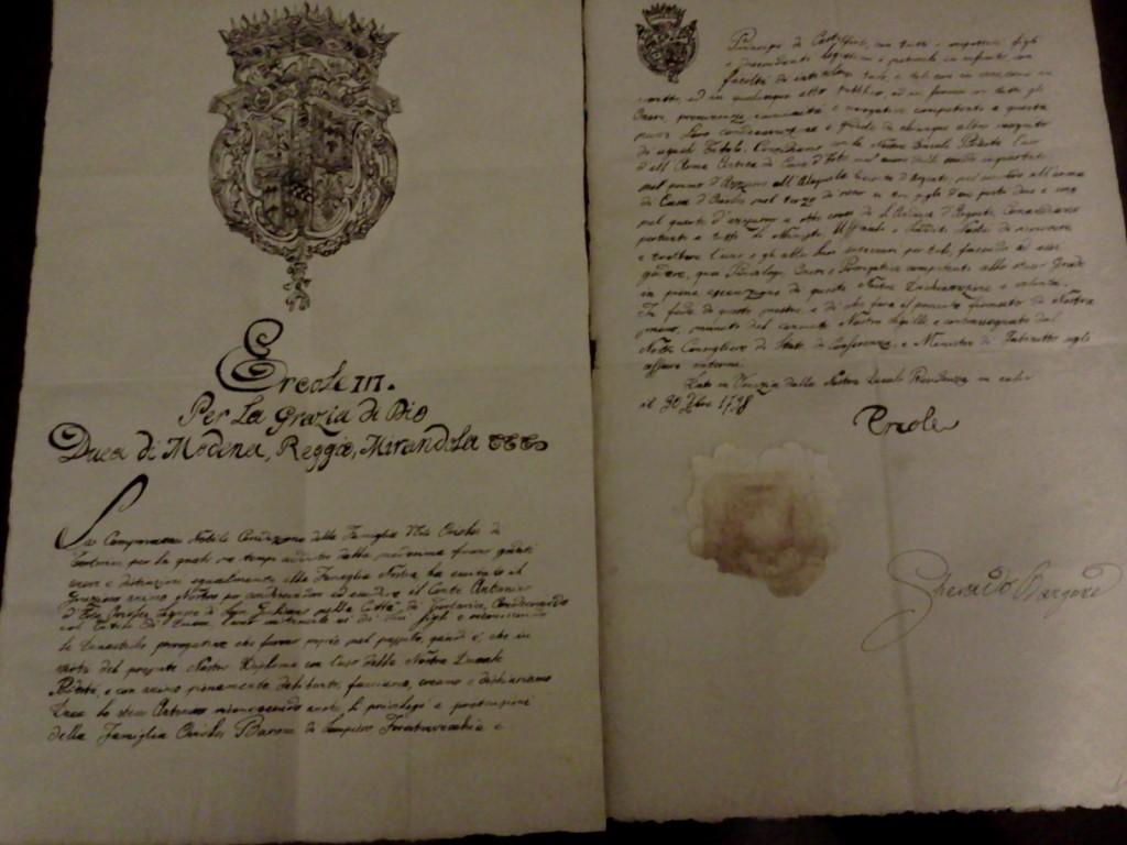 Lettera Patente