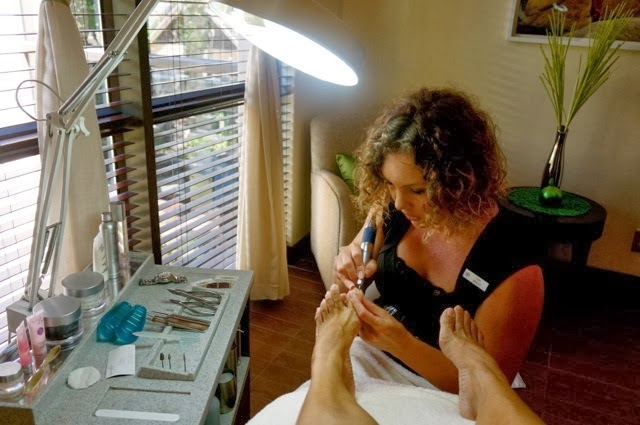 THE WORLD'S BEST PEDICURE IN CAPE TOWN. Click on the photo.