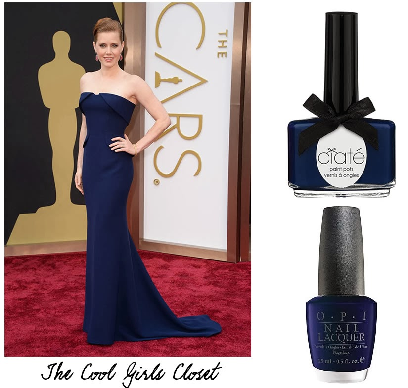 Best nail polish color for purple dress