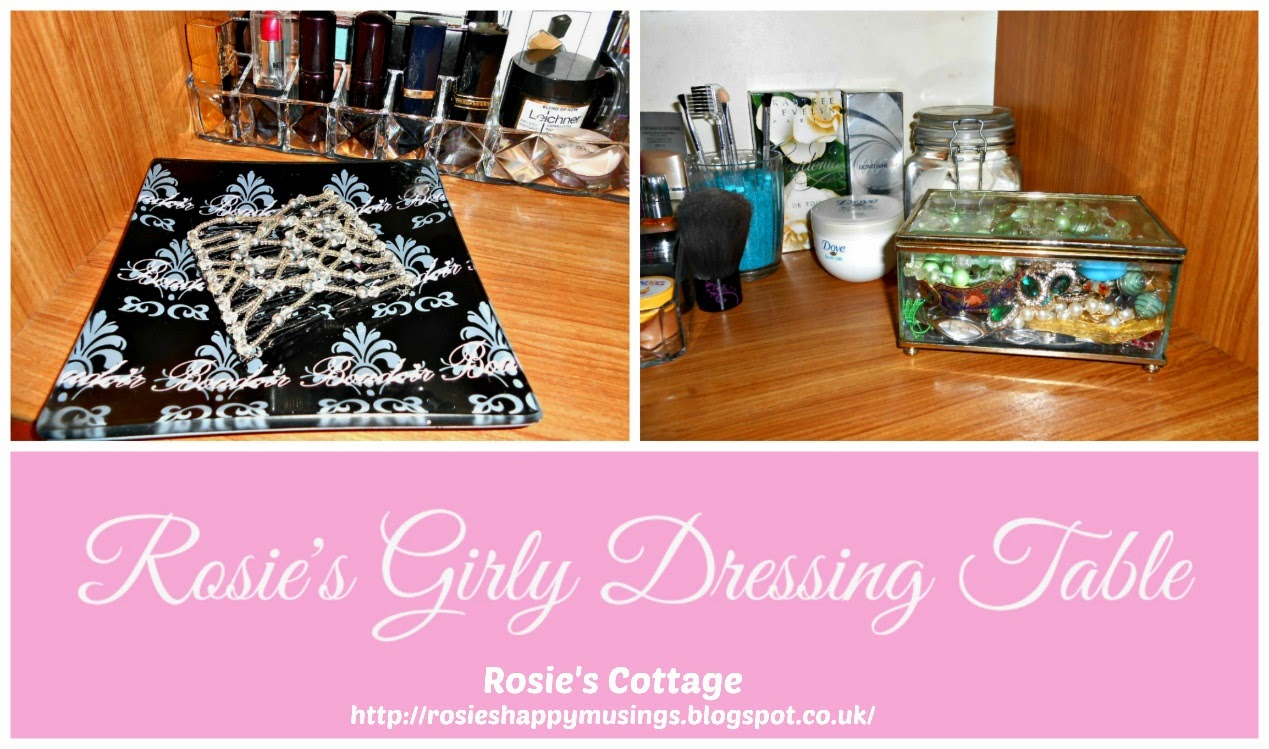 Organizing The Bedroom, Rosies Girly Dressing Table