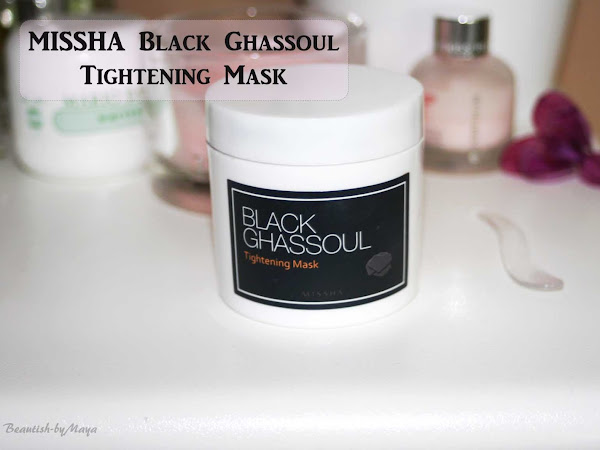 MISSHA Black Ghassoul Tightening Mask - a must have clay mask for oily/combination skin