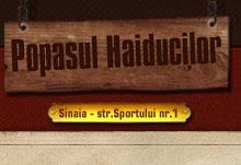 14. POPASUL HAIDUCILOR SINAIA