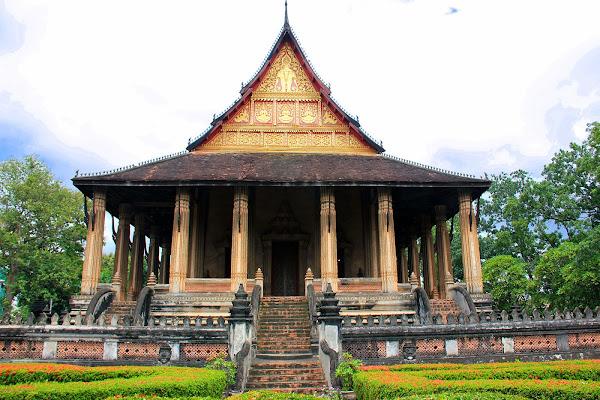 Wat Phra Keo Ho em Vientiane