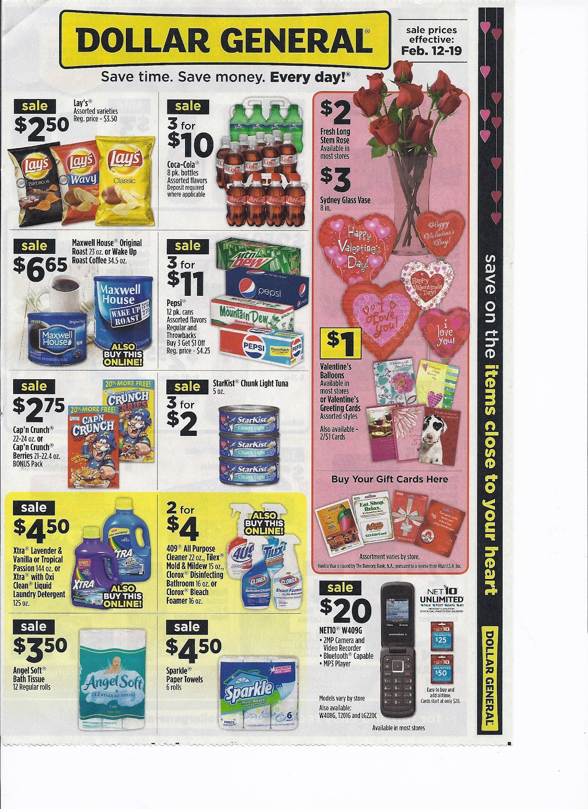 Coupons For Christ Dollar General Ad 2 12 2 19