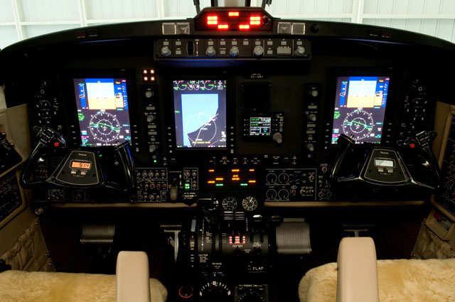 Avión Beechcraft King Air 350i de la Fuerza Aérea Colombiana FAC5733