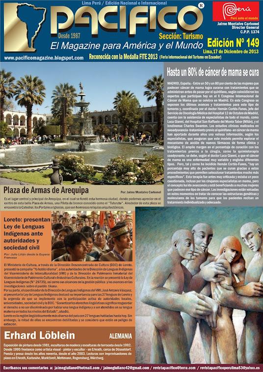 Revista Pacífico Nº 149 Turismo