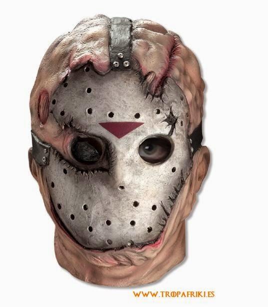 Careta Jason con máscara hockey 30€ halloween