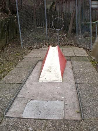 The Net hole on the Askoe Wien Miniaturegolf course