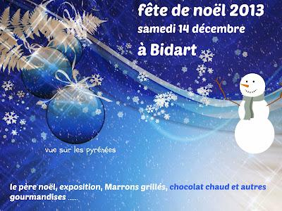 fête de noël 2013 à Bidart