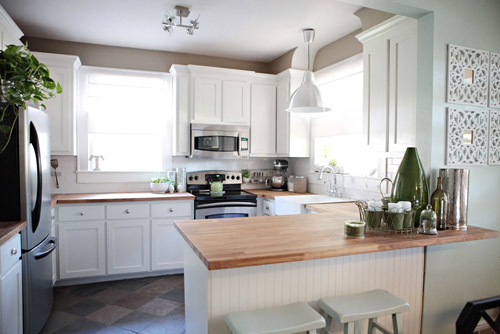 Top White Kitchens with Butcher Block Countertops 500 x 334 · 44 kB · jpeg
