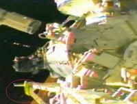 Presunto ser extraño filmado cerca de la ISS, Estación Espacial Internacional - marzo 2013