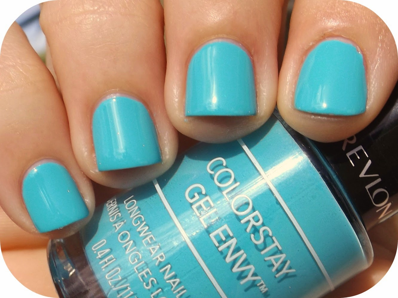 Nail Juice: Revlon Gel Envy - Full House