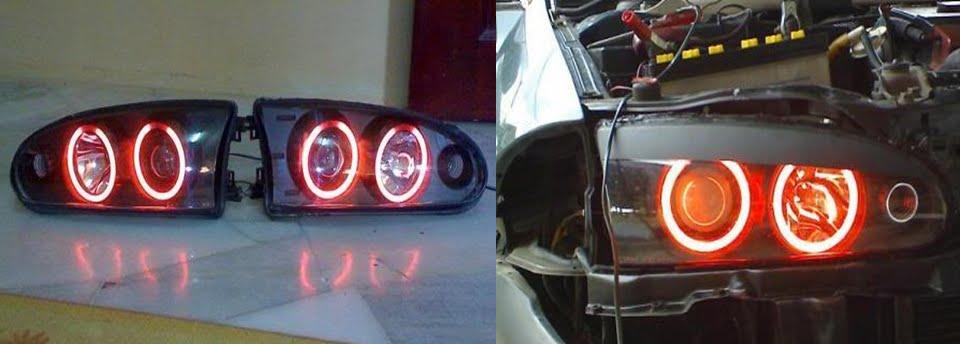 Fire Starting Automobil  Modifikasi Proton Satria