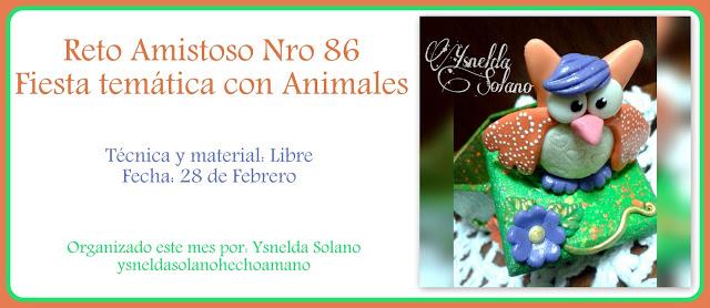 """Reto nº 86 """"fiesta tematica con animales"""""""
