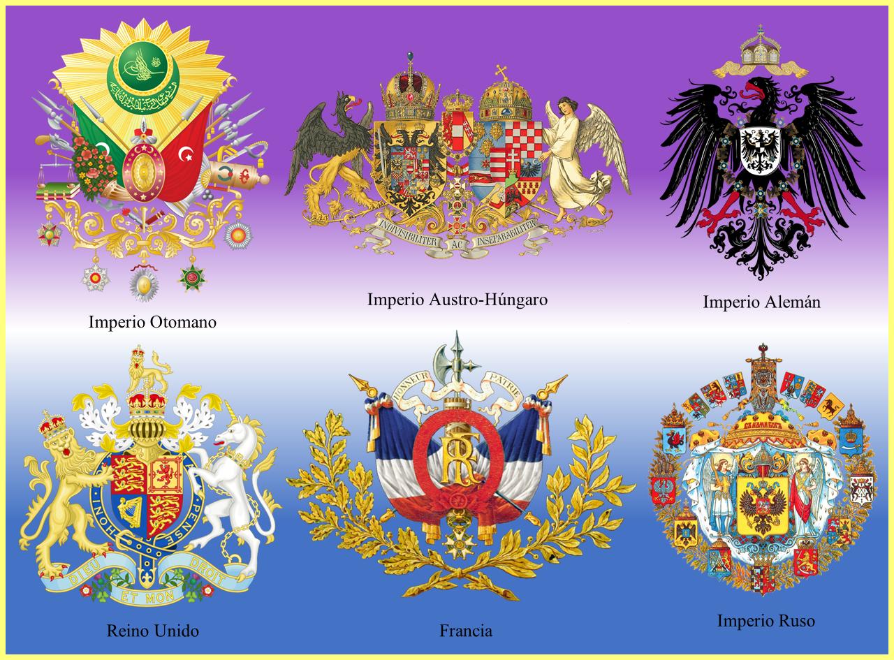 Escudos Primera Guerra Mundial