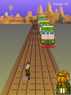 Subway Surfers: Rome 240x320 Touchscreen,games for touchscreen mobiles,java touchscreen games