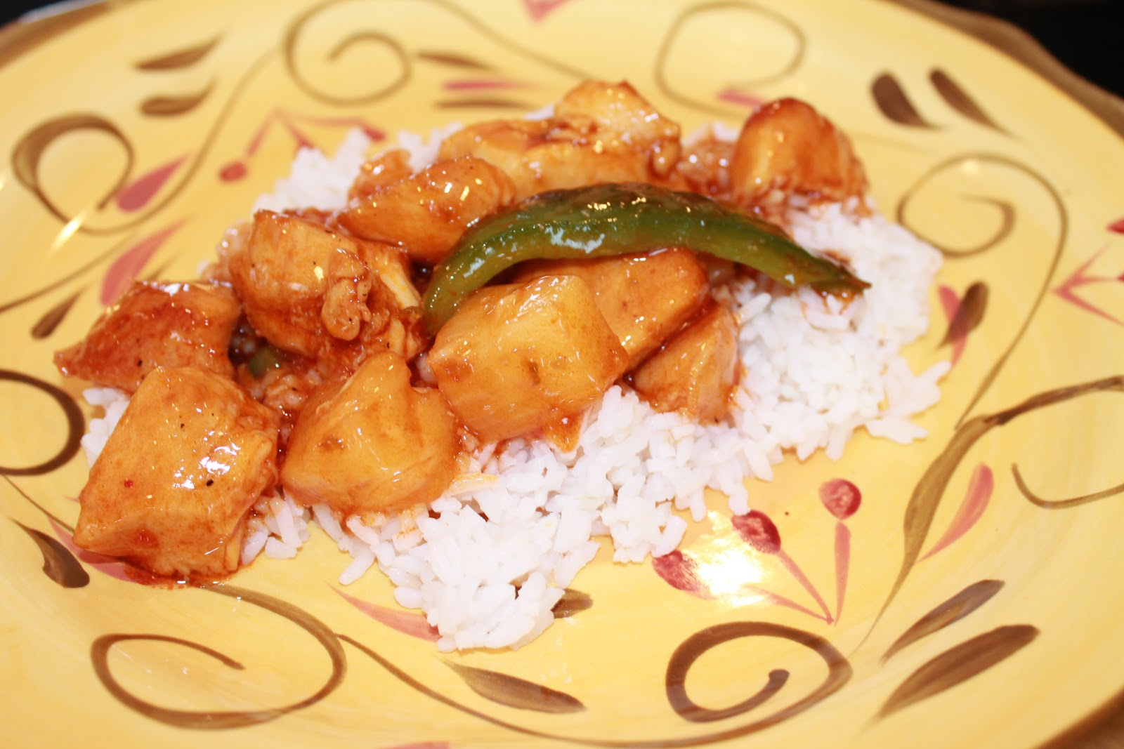kathleen r olson sweet and sour chicken