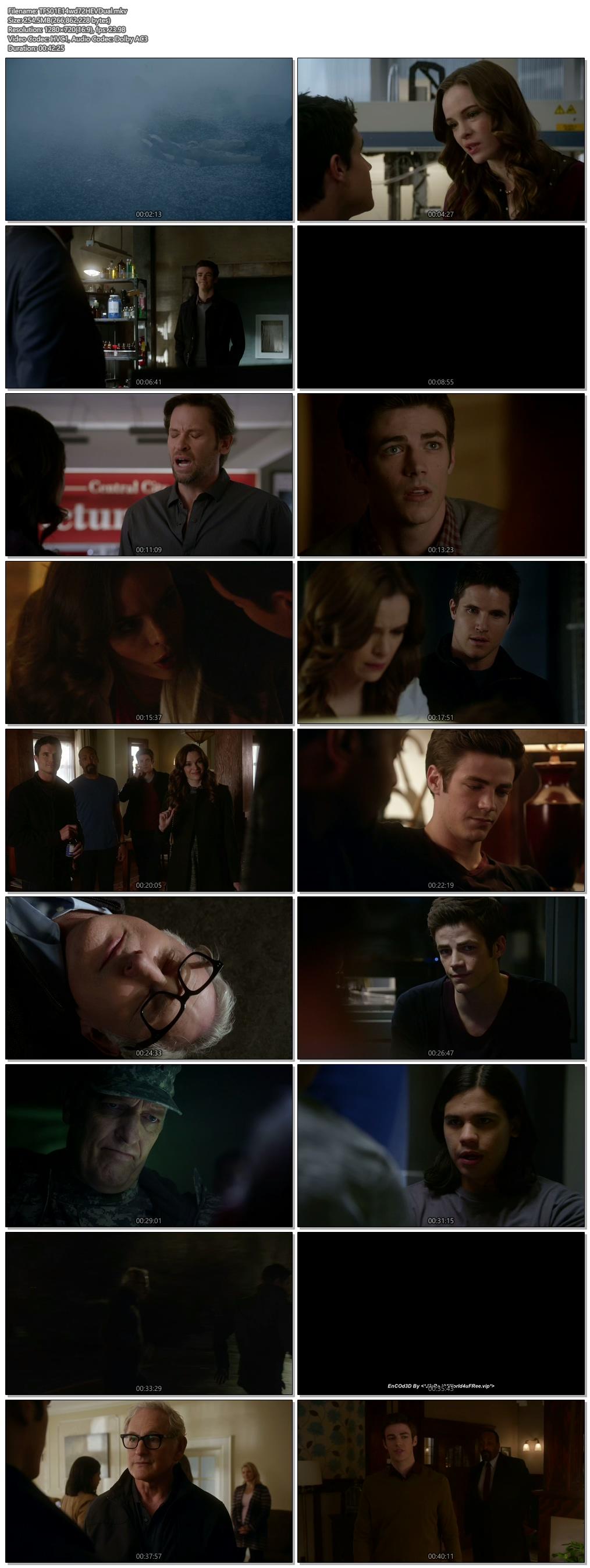 Screenshots Of Hindi Dubbed Show The Flash 2015 Season 01 Episode 14 300MB 720P HD