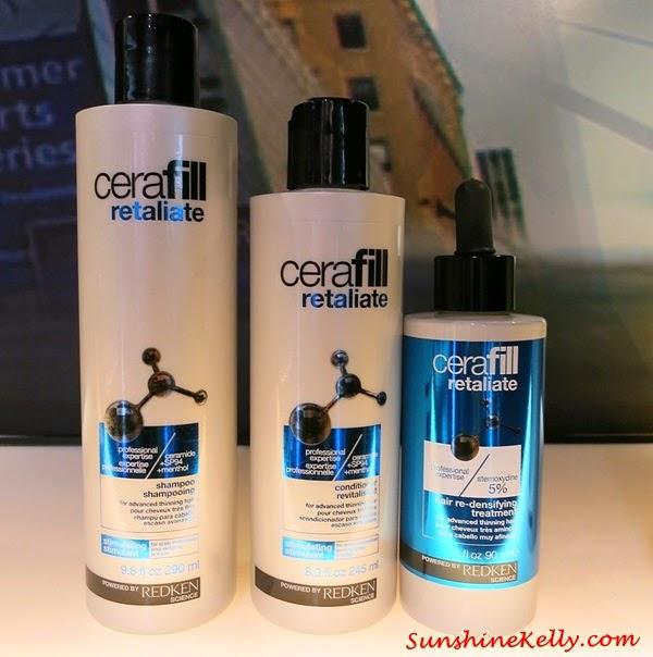 Redken Cerafill-94 Thinning Hair Solutions, Redken Cerafill-94 Defy, Redken Cerafill-94 Retaliate, Redken Cerafill-94 Maximize, Redken, Haircare, Redken Malaysia, Redken Cerafill-94, Thinning Hair Solutions