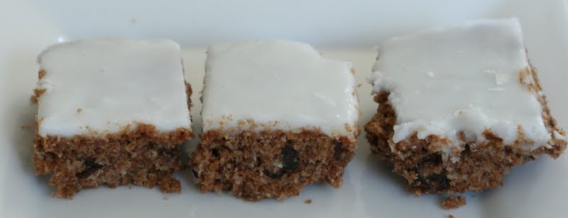 Weetbix slice recipe with lemon icing