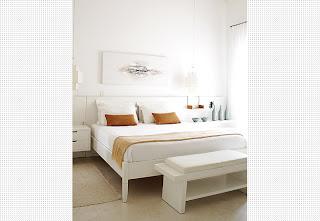quarto+de+casal+5+branco+Casa+e+Jardim Decoração de quartos na cor branca