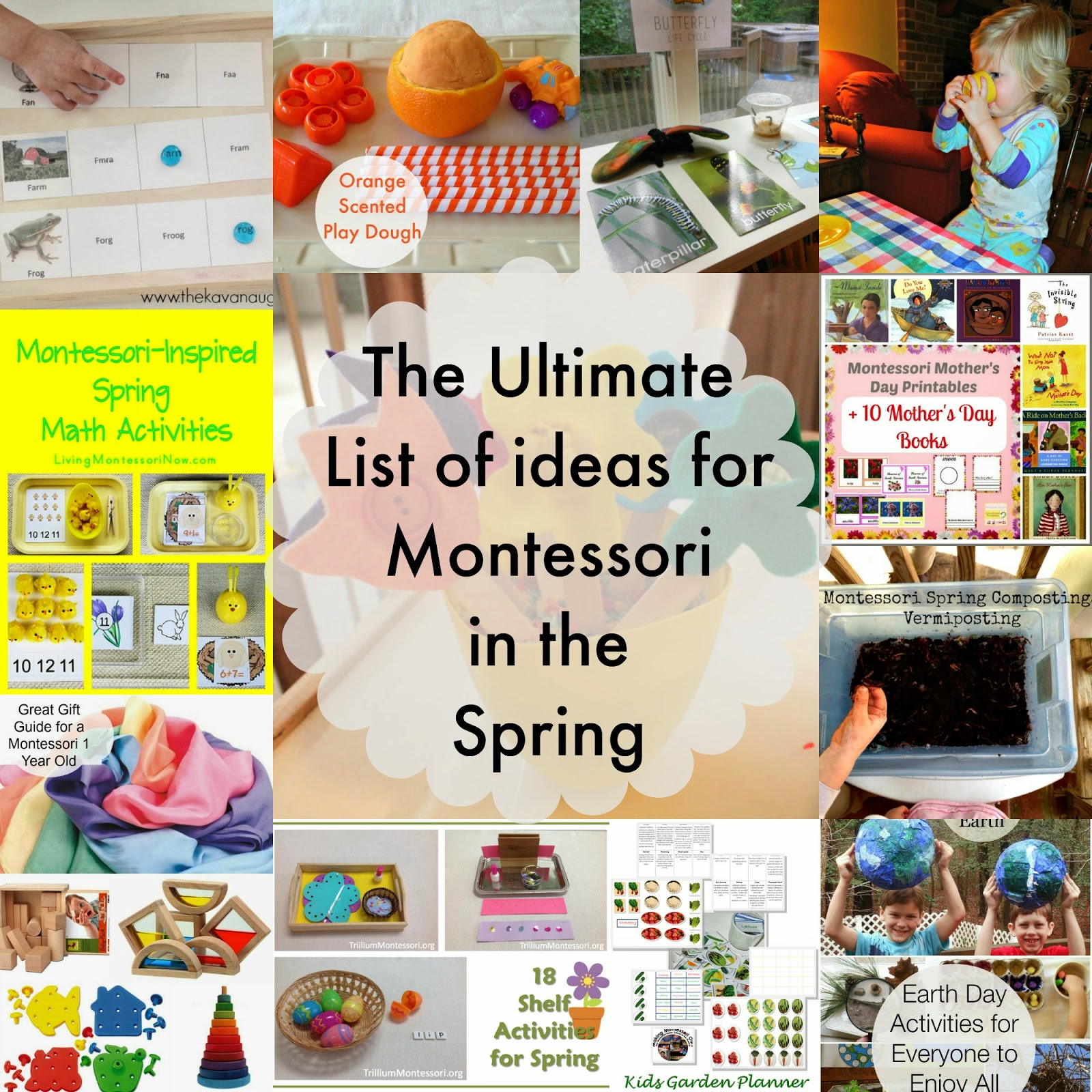 Spring Montessori Activities, Spring Activities for kids, Printables, Nature, Sensory Play, Animals, Birds, Flowers, crafts, www.naturalbeachliving.com
