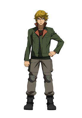 Mobile Suit Gundam: Iron-Blooded Orphans Eugene Seven Stark official character design image 00