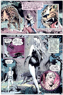 Rima the Jungle Girl v1 #2 dc bronze age comic book page art by Nestor Redondo