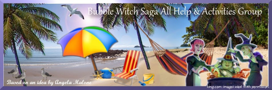 Bubble Witch Saga All Help & Activities Group