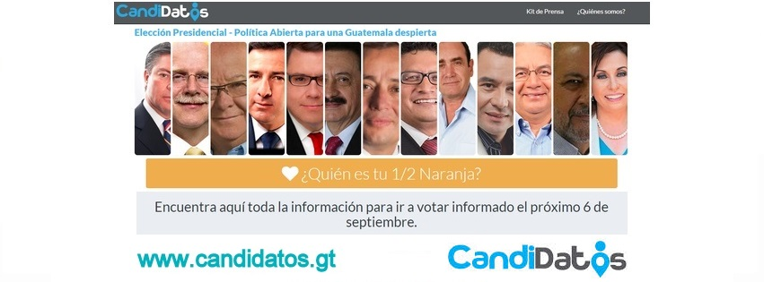 CANDIDATOS DE GUATEMALA