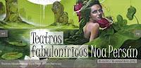 Imaxe cartaz da exposición Teatros fabuloníricos, Noa Persán
