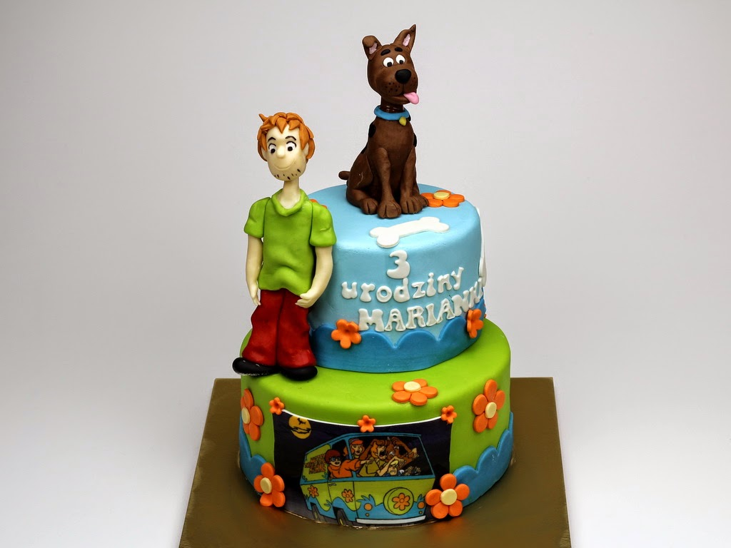 Birthday Cake Scooby Doo - Sutton