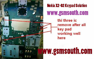 Nokia x2-02 Keypad Solution