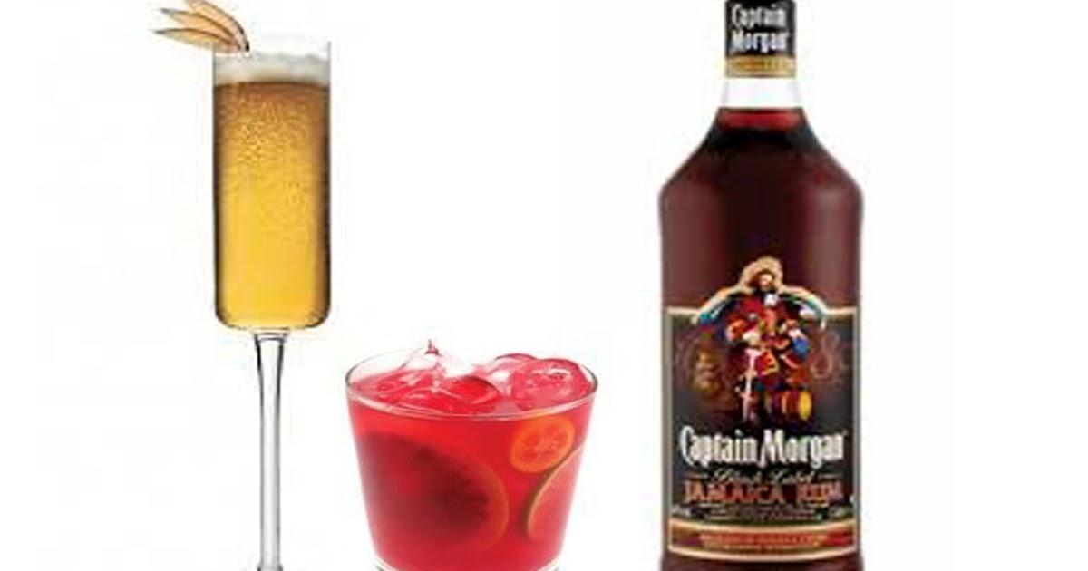 Barman In Red Nuevos Cocteles Con Ron Captain Morgan
